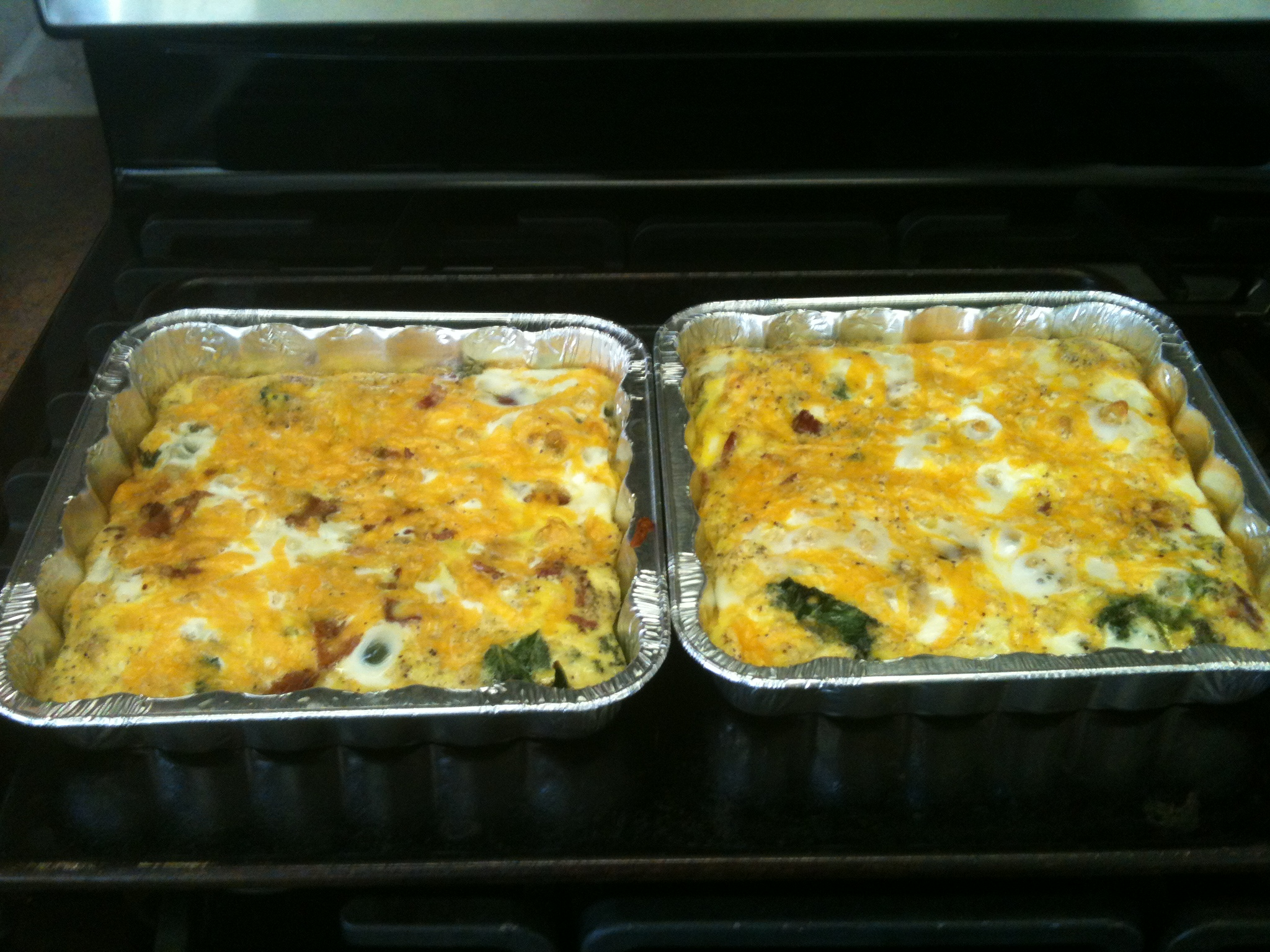 Once A Month Mom – Kale, Bacon, and Cheese Breakfast Casserole ...